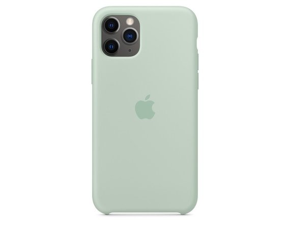 Apple Silikonowe etui do iPhone'a 11 Pro - akwamaryna
