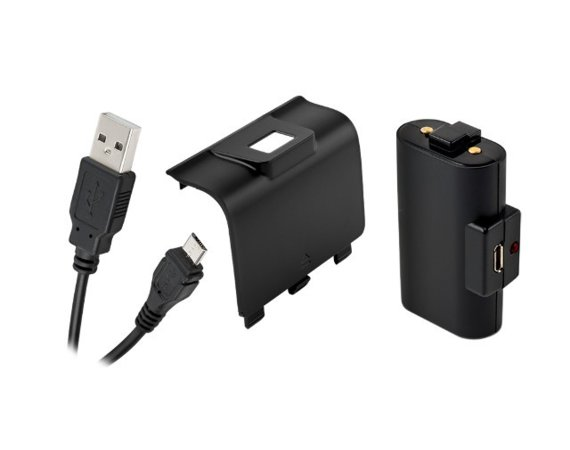 Gioteck Zestaw do Gamepada (Akumulator+Kabel) PLAY AND CHARGE XboxOne