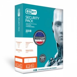 ESET Security Pack Box 1+1 2Y PL    ESP-N-2Y-2D