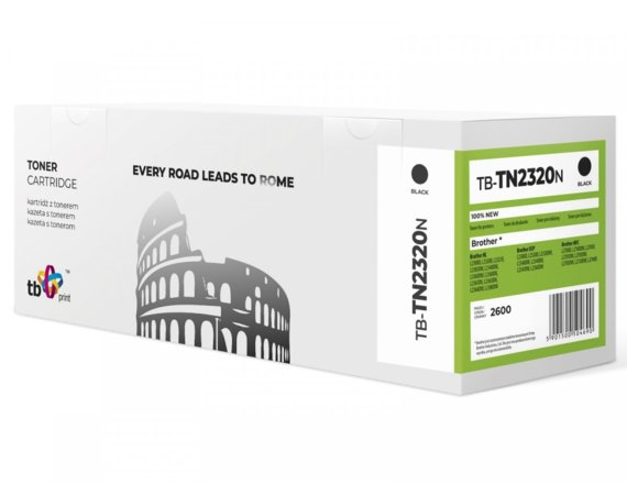 TB Print Toner do Brother TN2320N BK 100%nowy TB-TN2320N
