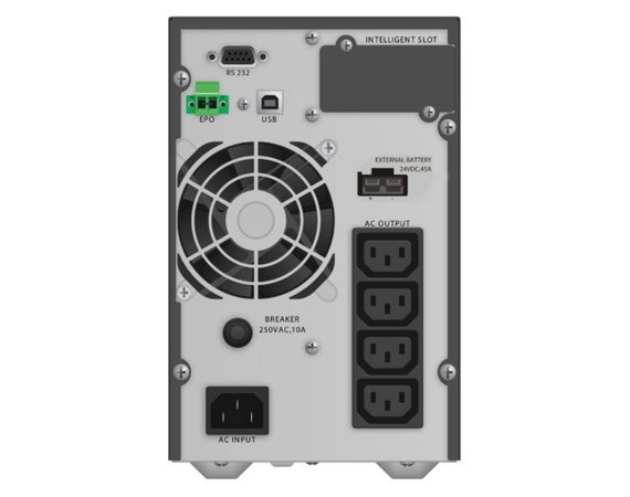 PowerWalker UPS On-Line 1000VA TGB 4x IEC, LCD, EPO, USB/RS-232 Tower