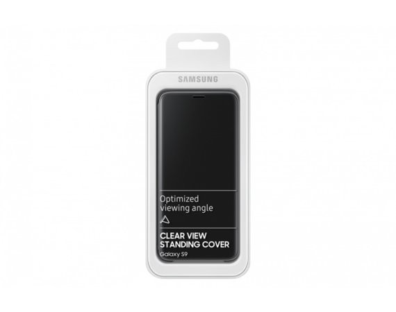 Samsung Clear View Standing cover S9 Czarny