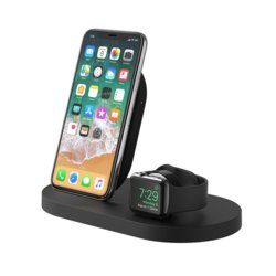 Belkin Stacja dokująca BoostUp Wireless dock iPhone+Watch+USB-A czarna