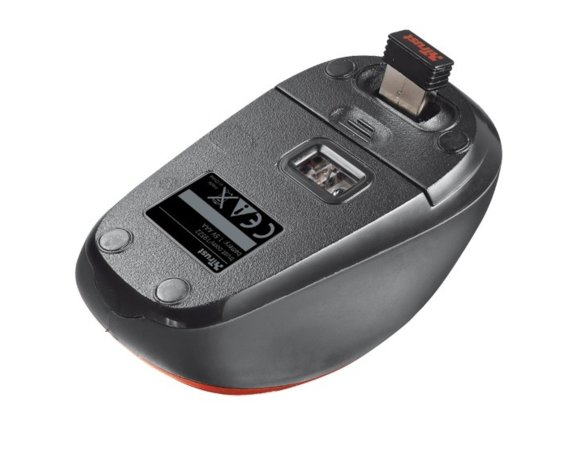Trust Yvi Wireless Mouse - red