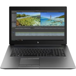 HP Inc. Laptop ZBook 17 G6 i7-9850H 1TB+256/16/W10P  6TV07EA