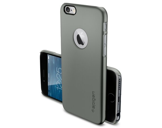 SPIGEN SGP  Etui Ultra Fit A Gun Metal iPhone 6