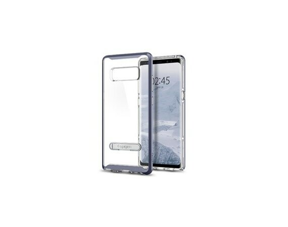 SPIGEN SGP  Crystal Hybrid Orchid Gray etui do Samsunga Galaxy Note 8