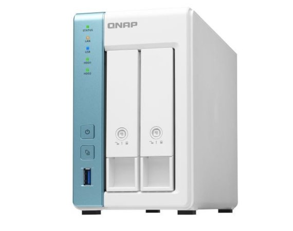 QNAP Serwer TS-231P3-2G AlpineAL314 1,7GHZ 2GB SO-DIMM DDR3
