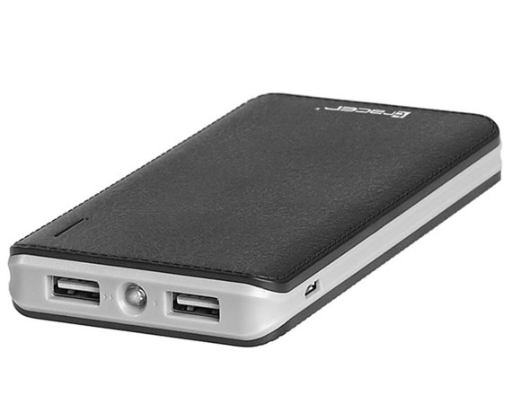 Tracer Power bank 8000 mAh polymer black/gray