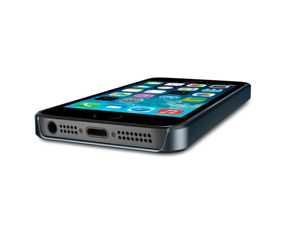 SPIGEN SGP  Etui Ultra Fit A Metal Slate iPhone 5/5s