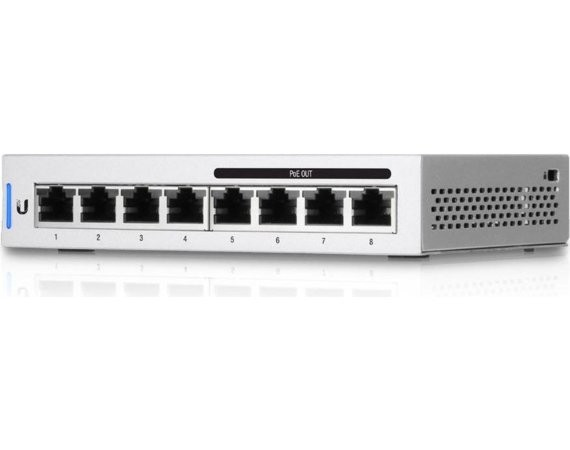 UBIQUITI  Switch 8x1GbE PoE US-8-60W