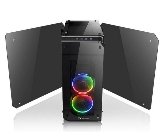 Thermaltake View 71 RGB Riing Tempered Glass - Black