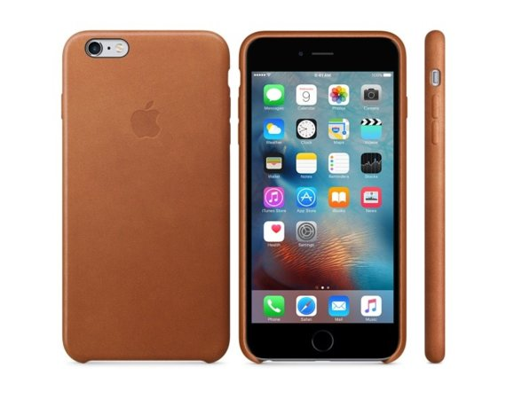 Apple iPhone 6s Plus Leather Case Saddle Brown