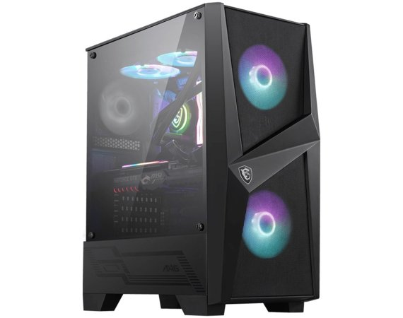MSI Obudowa MAG FORGE 100R ARGB FAN Glass Window 2xUSB