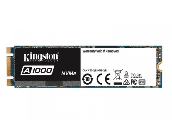 Kingston A1000 960GB M.2 2280 PCI-e NVMe 1500/1000MB/s