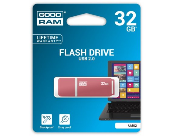 GOODRAM UMO2 32GB USB 2.0
