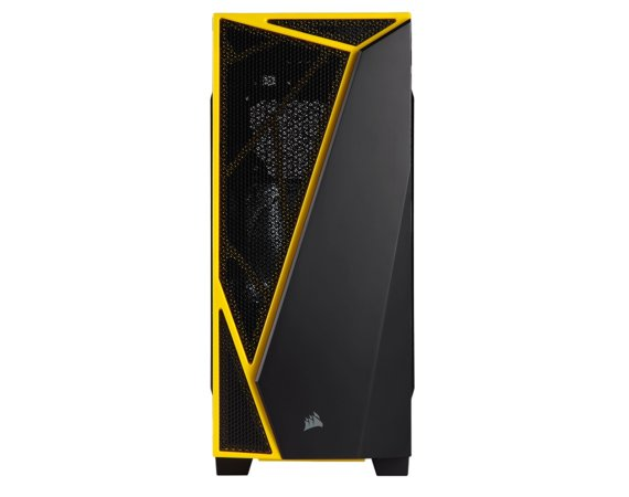 Corsair CARBIDE SERIES SPEC-04 Windowed ATX Mid-Tower Gaming Case - Black/Yellow