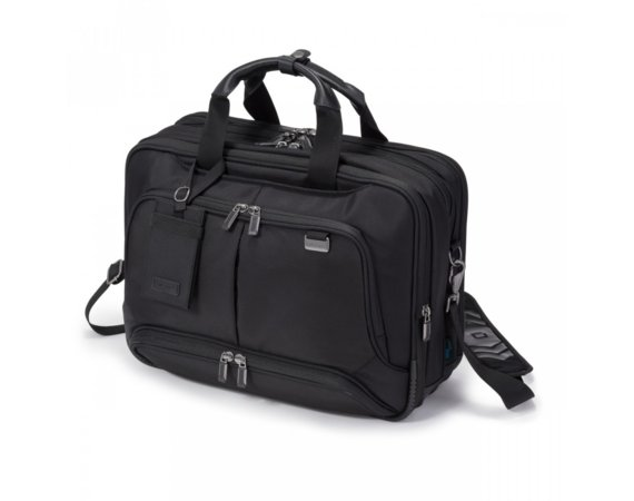 "DICOTA Top Traveller Twin PRO 14-15.6"" czarny (notebook, drukarka, projektor)"