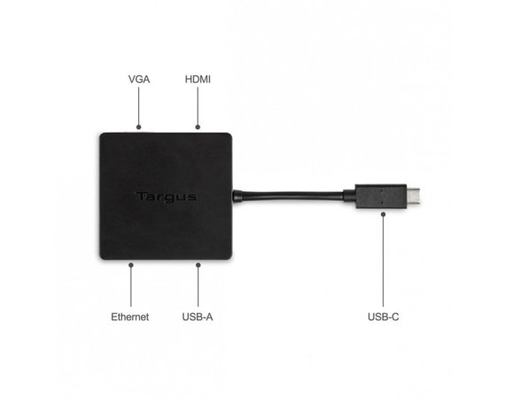 Targus USB-C DisplayPort Alt-Mode Travel Dock