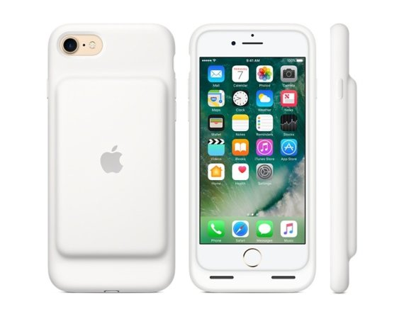 Apple iPhone 7 Smart Battery Case - White