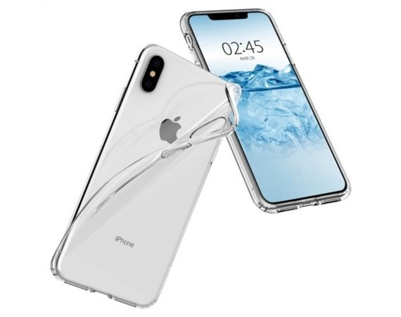 SPIGEN SGP  Etui Liquid Crystal Clear iPhone XS Max
