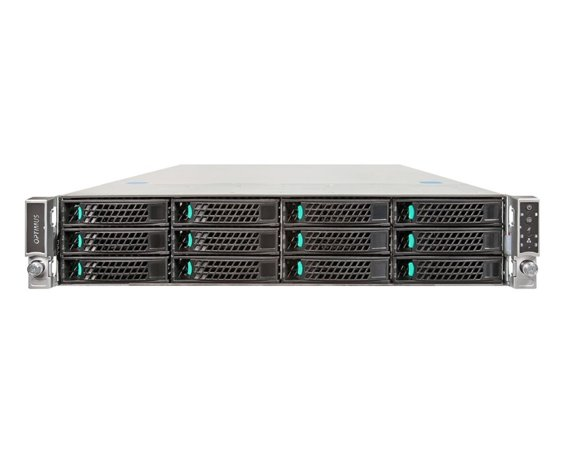OPTIMUS IRON R22122 I2 Rack/2U/2xE5-2600/24xRAM/12xHDD
