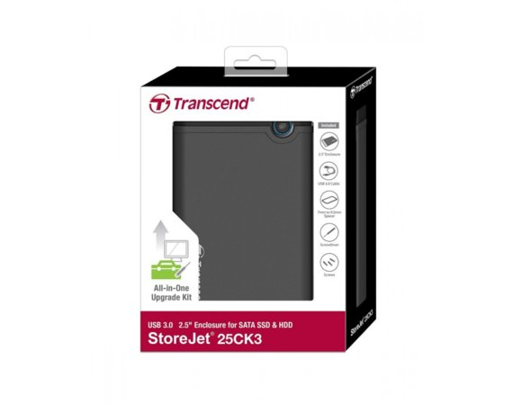 Transcend StoreJet 25CK3 SATA6Gb/ USB3.0 SSD/HDD CASE Upgrade Kit