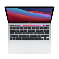 Apple MacBook Pro 13: Apple M1 chip with 8 core CPU and 8 core GPU, 256GB SSD - Silver