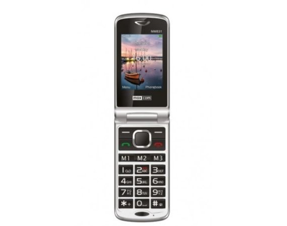 Maxcom MM831BB CZARNY Poliphone/Big button 3G