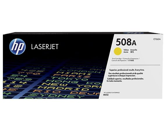 HP Inc. Toner 508A Yellow 5k CF362A