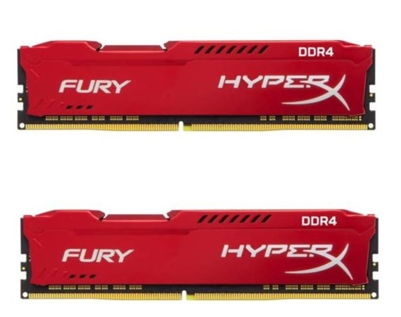 HyperX DDR4 Fury Red 16GB/2400 (2*8GB) CL15