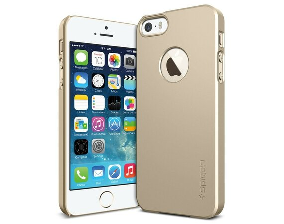SPIGEN SGP  Etui Ultra Fit A Champagne Gold iPhone 5/5s