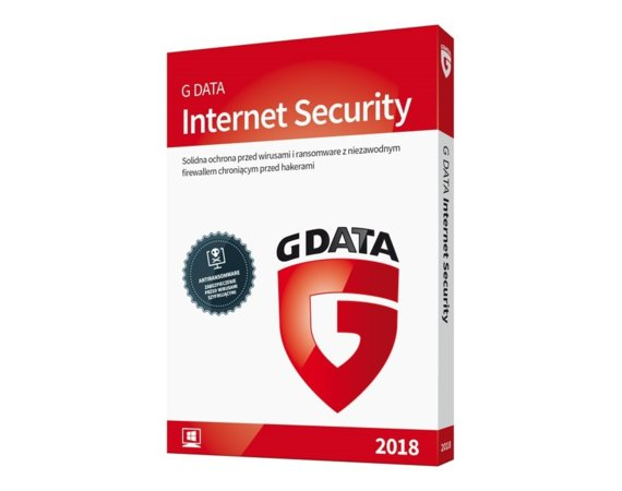 G DATA InternetSecurity Kontynuacja 3PC 1Y BOX