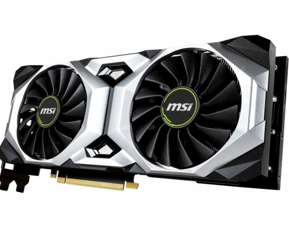 MSI Karta graficzna GeForce RTX 2080 SUPER VENTUS OC 8GB 256BIT GDDR6 HDMI/3DP