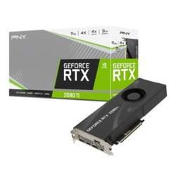 PNY Karta graficzna GeForce RTX2080Ti 11GB BLOWER