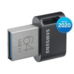 Samsung Pendrive FIT Plus USB3.1  64 GB Gray MUF-64AB/APC