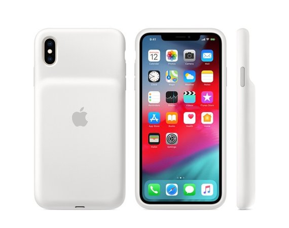 Apple Etui Smart Battery Case do iPhonea XS Max - białe
