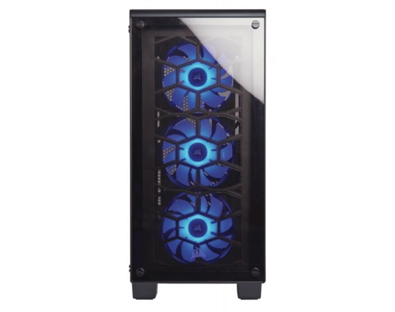 Corsair Crystal Series 460X RGB Compact ATX    Mid-Tower Case