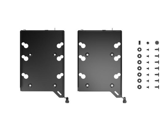 Fractal Design Zestaw HDD Tray Kit Type-B Black
