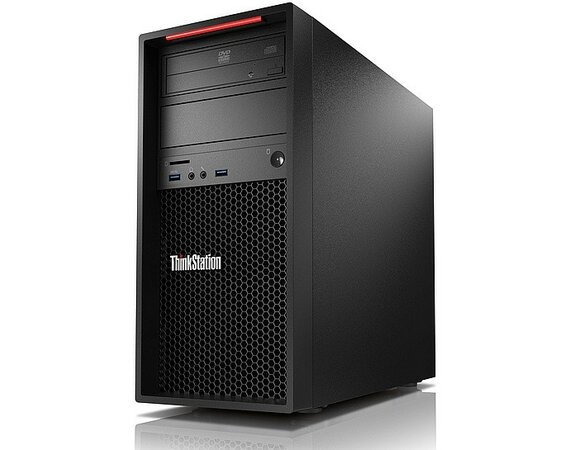 Lenovo ThinkStation P310 Tower Workstation 30AT003PPB W7P&W10Pro E3-1245 v5/8GB/SSD 256GB/Integrated/DVD/400W/3YRS OS