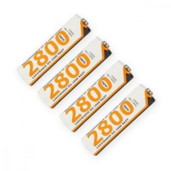 Whitenergy Akumulatory 4xAA NiMH 2800 mAh