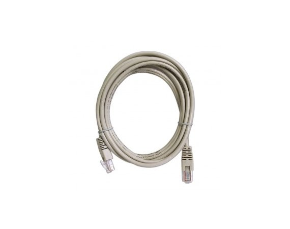 ART Patch cord 3m UTP 5e szary