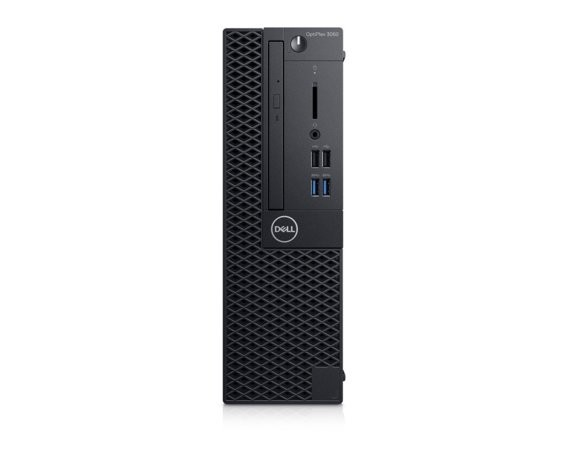 Dell Komputer Optiplex 3060SFF W10Pro i3-8100/8GB/256GB/Intel UHD 630/DVD RW/No Wifi/KB216/MS116/3Y NBD