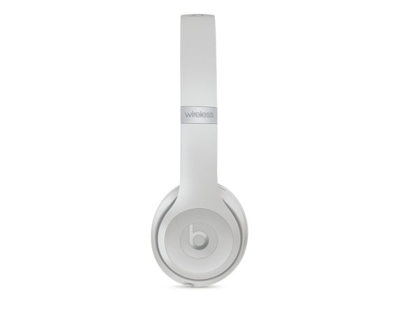 Apple Beats Solo3 Wireless On-Ear Headphones - Matte Silver