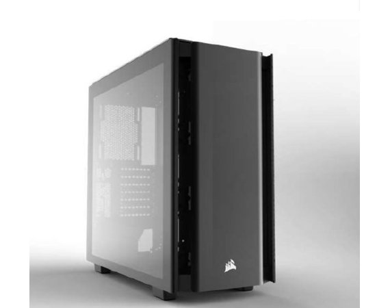 Corsair Obsidian Series 500D Premium Mid-Tower Case, Premium Tempered Glass and Aluminum