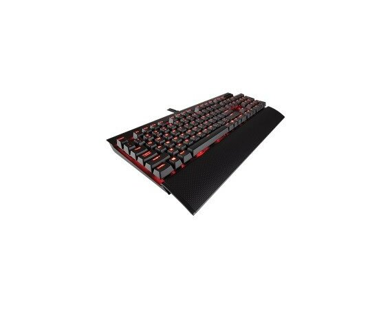 Corsair Gaming K70 LUX RAPIDFIRE Mechanical Key                              Red LED - Cherry MX Blue