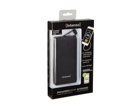 Intenso Powerbank S10000 Czarny 10000mAh