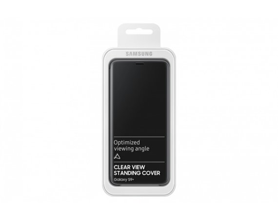 Samsung Clear View Standing cover S9+ Czarny