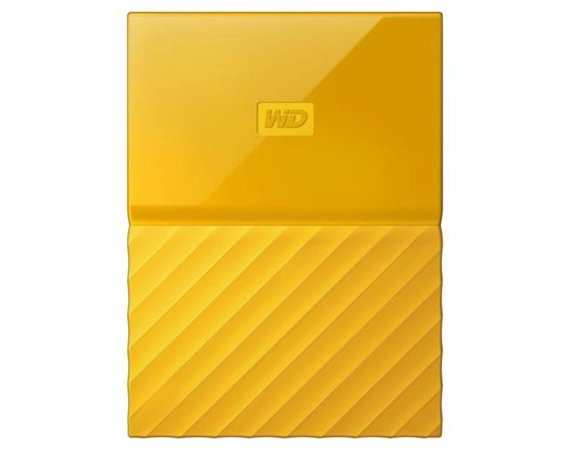 Western Digital MY PASSPORT 4TB 2,5' yellow WDBYFT0040BYL-WESN