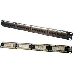 LogiLink Patch panel CAT5e 24-porty